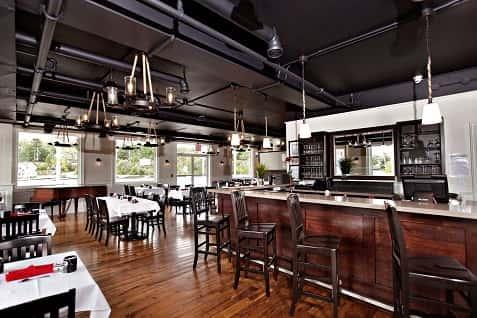 Interior shot of the Anchorage restaurant