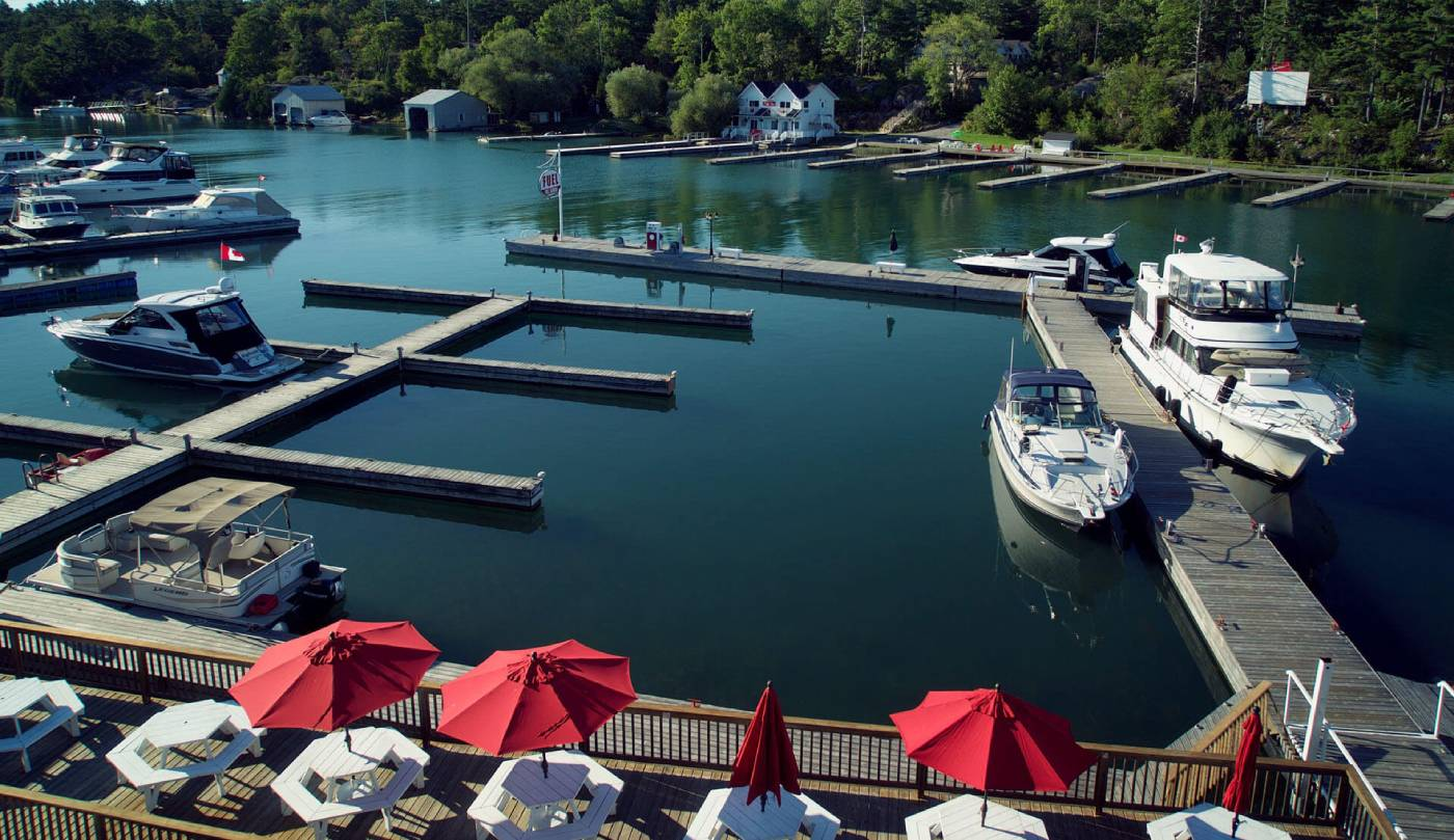 The docks at Sportsman